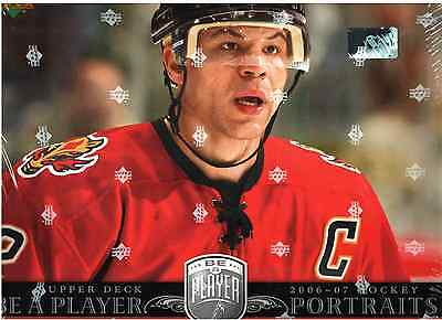 2006-07 Upper Deck Be A Player Portraits NHL Hockey Hobby Box