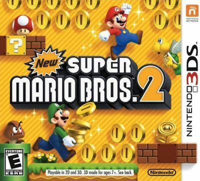 New Super Mario Bros. 2 (Nintendo 3DS) Game Only Super Mario Brothers 2 3DS