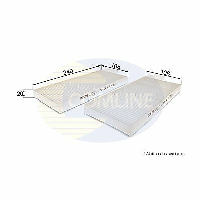 Comline Cabin Filter Interior Air Pollen Genuine OE Quality Service Replacement