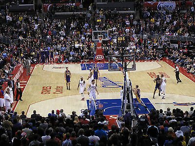 2 Denver Nuggets vs Los Angeles Clippers Tickets 4/13/15 - Aisle Seats!!!