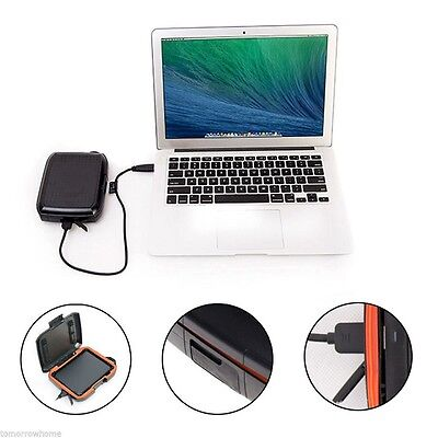 Pro Shockproof Rug Protect Case For Seagate Backup Plus Portable Hard Disk Drive