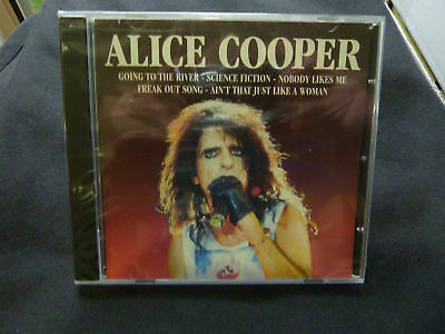 ALICE COOPER SELF TITLED ULTRA RARE SEALED UK CD ALBUM!