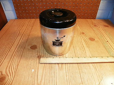 Vintage WEST BEND Aluminum Coffee Canister*
