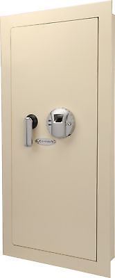 Barska Biometric Wall Hidden Safe Fingerprint Lock Security Box, AX12408