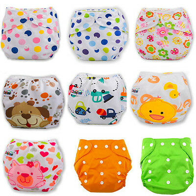 Baby Infant Healthy Cloth Diapers Reusable Nappy Covers Liner Microfiber Insert
