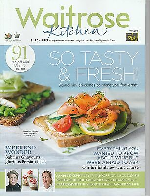 Waitrose Kitchen Magazine - April 2015 - Tasty & Fresh