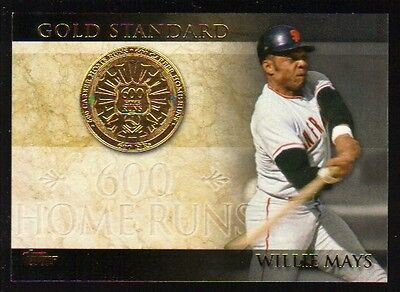 2012 Topps Series 1 Gold Standard GS 25 Willie Mays San Francisco Giants