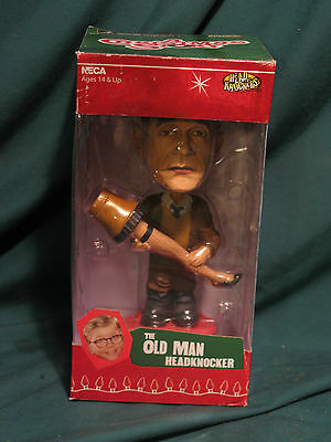 A Christmas Story: The Old Man Bobblehead New/Old Stock...