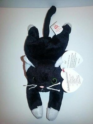 Ty Beanie Baby  ZIP the  Cat  MINT with TAGS ~ RETIRED 1997