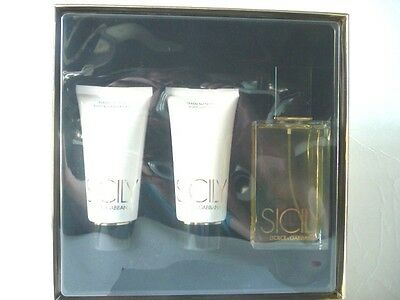 SICILY BY  DOLCE & GABBANA 3.4 OZ(100ML) EAU DE PARFUM SPRAY GIFT SET