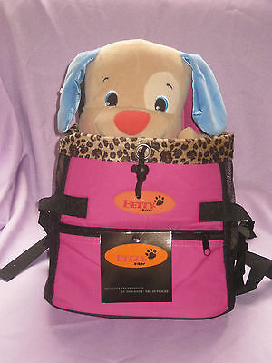 Pet travel CARRIER dog cat   color PINK size small