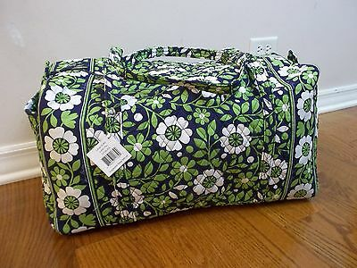 NWT New Vera Bradley Large Duffel Bag In Lucky You