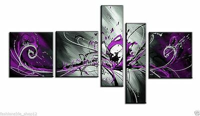 5pc Modern Abstract Huge Art Oil Painting Handmade canvas on wall No Frames
