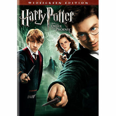 Harry Potter and the Order of the Phoenix (DVD, 2007, Widescreen) Complete