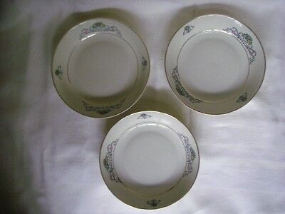 HEINRICH H&C IVORY BODY SUPREME SET OF 3 BERRY DISHES