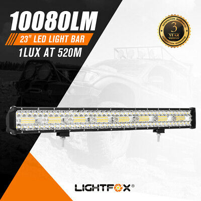 """23inch LED Light Bar Work Driving Osram Combo beam Offroad 4WD 4x4 Truck 23"""" 20"""""""