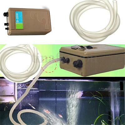 Aquarium Waterproof Battery Fish Tank Air Pump Aerator Oxygen Air Pump Bubbles