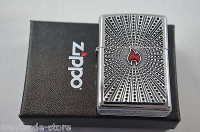 ZIPPO Little Flame Emblem lighter - stunning collectible Spring Edition 2015