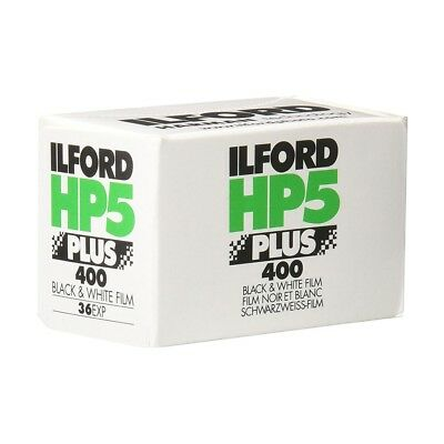 Ilford HP5+ 400 ASA 35mm Black and White Print Film 135-36 Exposure