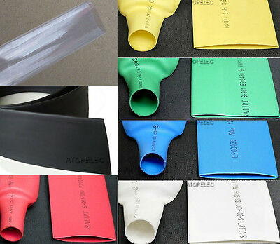 20MM~80MM Polyolefin 2:1 Heat Shrink Tubing ROHS UL