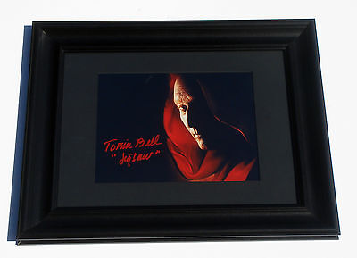 Jigsaw Tobin Bell Signed Saw 8X10 FRAMED Color Photo COA EXACT PROOF