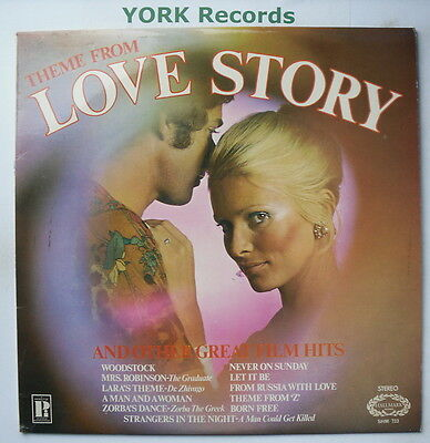 LOVE STORY & OTHER GREAT FILM HITS - Excellent Con LP Record Hallmark SHM 733