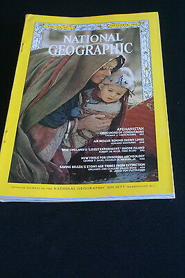 National Geographic September 1968 Afghanistan / Rhode Island /Indians