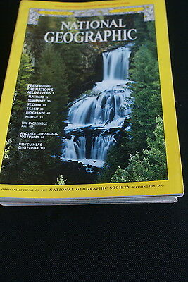 National Geographic July 1977 wild and scenic rivers / the rat / Turkey