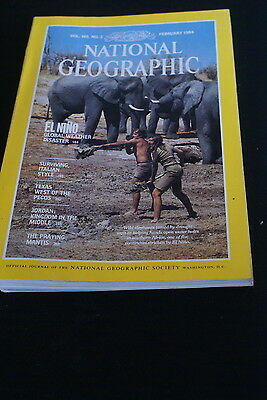 National Geographic February 1984 El Nino global weather disaster