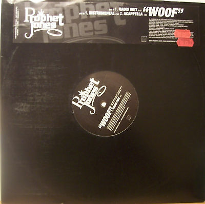 "PROPHET JONES ~ Woof ~ 12"" Single PROMO"