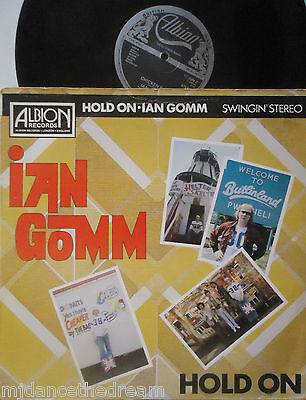 "IAN GOMM ~ Hold On ~ 12"" Single PS"
