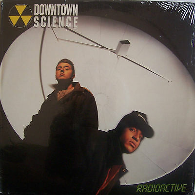"DOWNTOWN SCIENCE ~ Radioactive ~ 12"" Single PS USA PRESS"