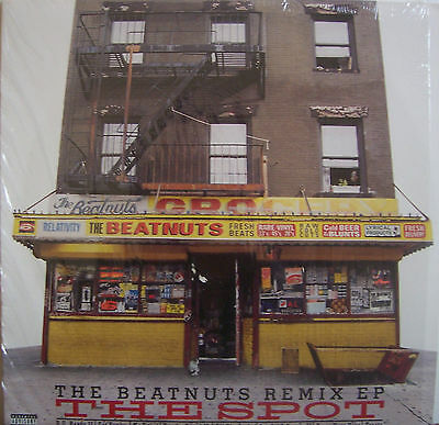 "THE BEATNUTS ~ REMIX EP The Spot ~ 12"" Single PS USA PRESSING"