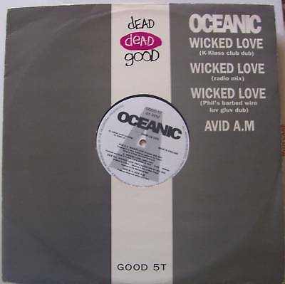 "OCEANIC ~ Wicked Love ~ 12"" Single PS"