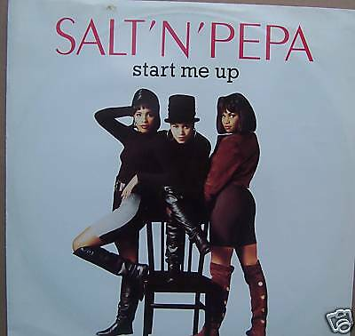 "SALT N PEPA ~ Start Me Up ~ 12"" Single PS"