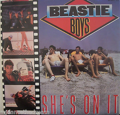 "BEASTIE BOYS ~ Shes On It ~ 12"" Single PS"
