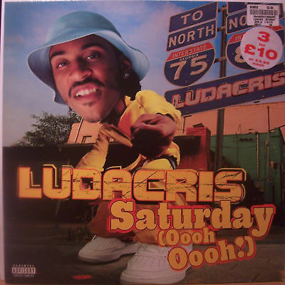 "LUDACRIS ~ Saturday Ooh Oooh ~ 12"" Single PS"
