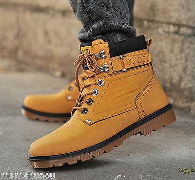 New Men's Casual Shoes Ankle Boots Breathable Cingulate Hip-hop High shoes