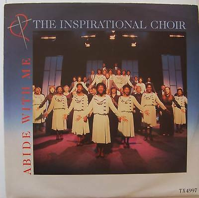 "THE INSPIRATIONAL CHOIR ~ Abide With me ~ 12"" Single PS"