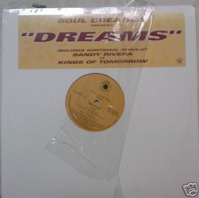 "SOUL CREATIONS ~ Dreams ~ 12"" Single PS USA"