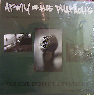 "ARMY OF THE PHARAOHS ~ The Five Perfect Exertions ~ 12"" Single PS USA PRESSING"