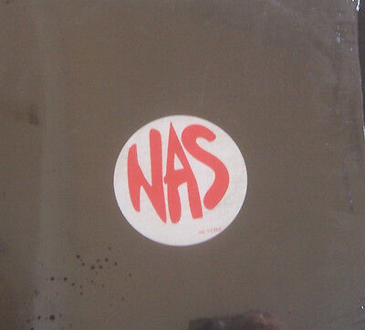 "NAS ~ It Aint Hard To Tell ~ 12"" Single PS USA PRESS"