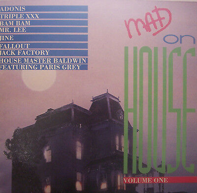 MAD ON HOUSE ~ Volume One ~ Various ~ VINYL LP