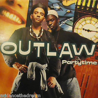 """OUTLAW ~ Partytime ~ 12"""" Single PS"""