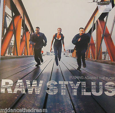 RAW STYLUS - Pushing Against The Flow ~ 2 x VINYL LP