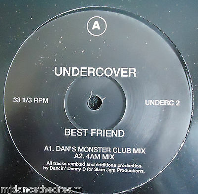 "UNDERCOVER ~ Best Friend ~ 12"" Single"