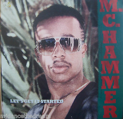 MC HAMMER ~ Lets Get It Started ~ VINYL LP