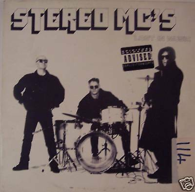 """STEREO MCs - Lost In Music - 12"""" Single PS"""