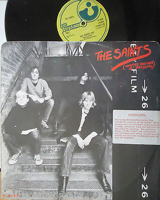 "THE SAINTS ~ This Perfect Day / L-I-E-S / Do The Robot ~ LTD ED 12"" Single PS"
