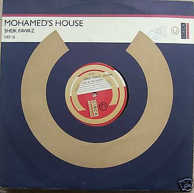 "MOHAMEDS HOUSE ~ Sheik Fawaz ~ 12"" Single"